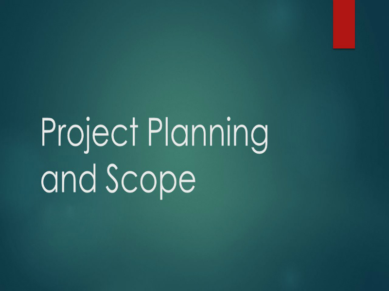 Project Planning and Control Foundation (Certification)