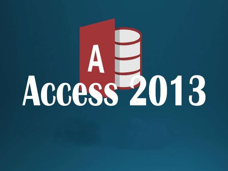 Access 2013 Beginner