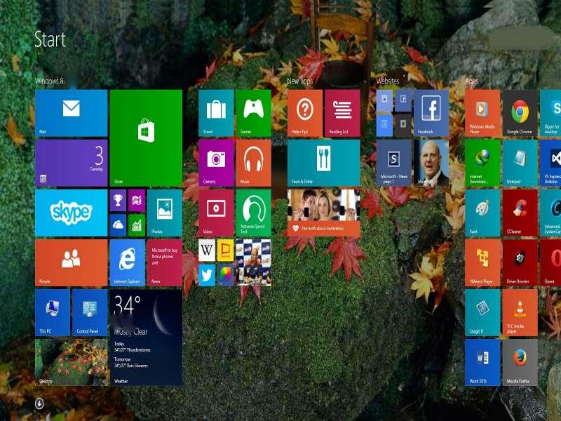 Windows 8 - Start Screen Apps 2