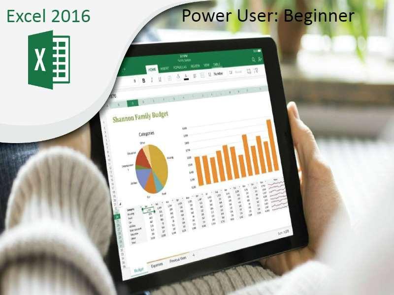 Excel 2016 Power User: Beginner