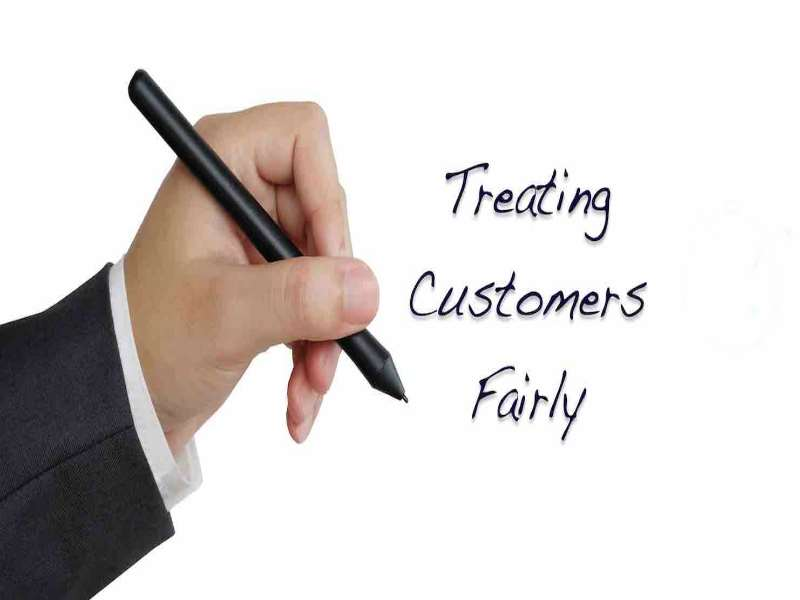 Treating Customers Fairly - Finance