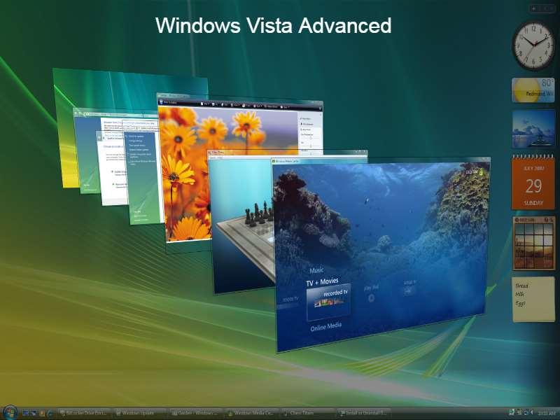 Windows Vista Advanced