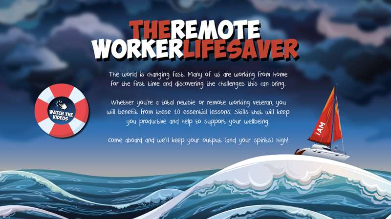 The Remote Worker Lifesaver
