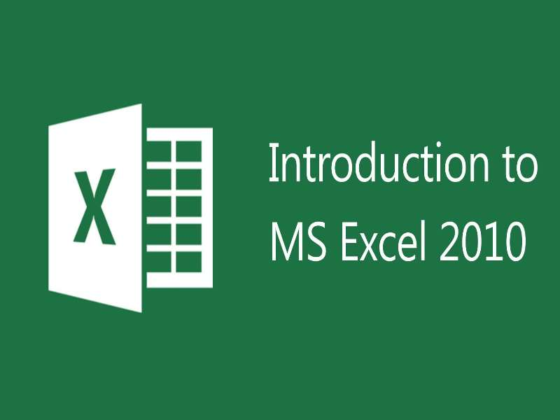 Excel 2010 - Level 1 - Basic Spreadsheet Tasks