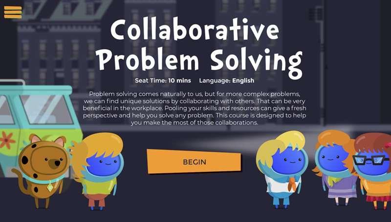 Collaborative Problem Solving