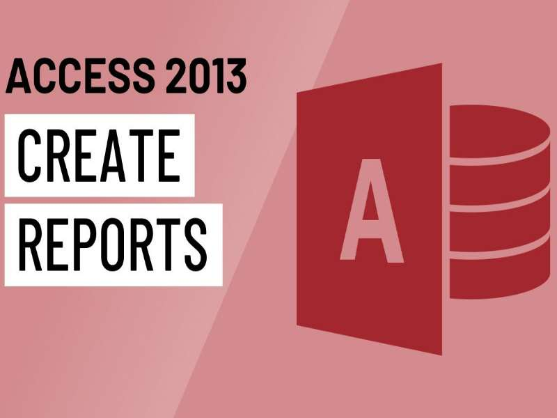 Access 2013 - Level 5 - Designing Reports