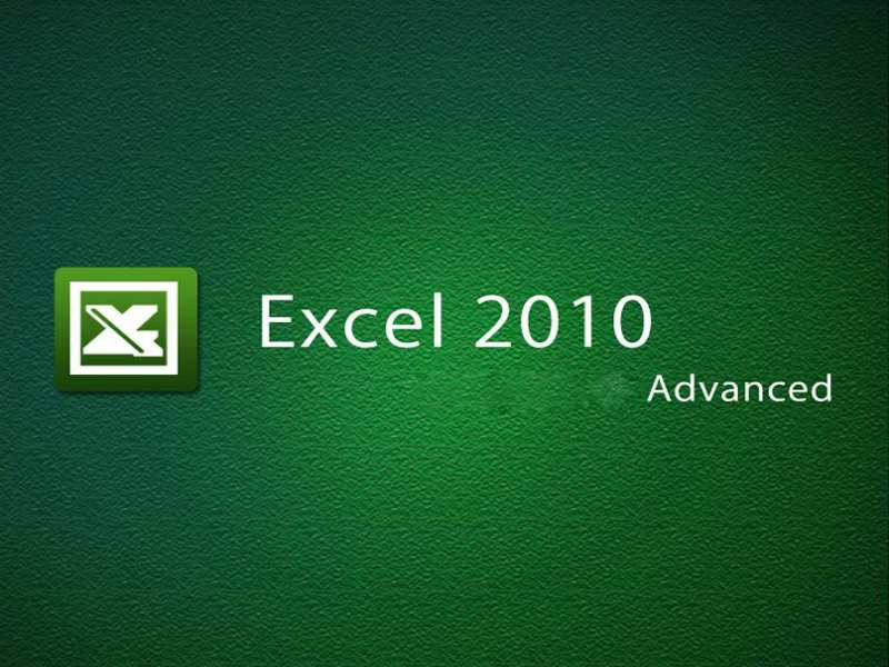 MS Excel 2010: Advanced