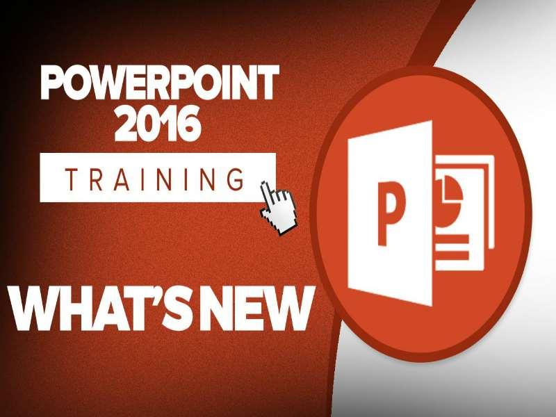 MS PowerPoint 2016: Intermediate