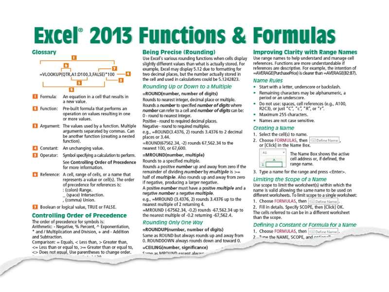 Excel 2013 - Level 5 - Formulas and Functions