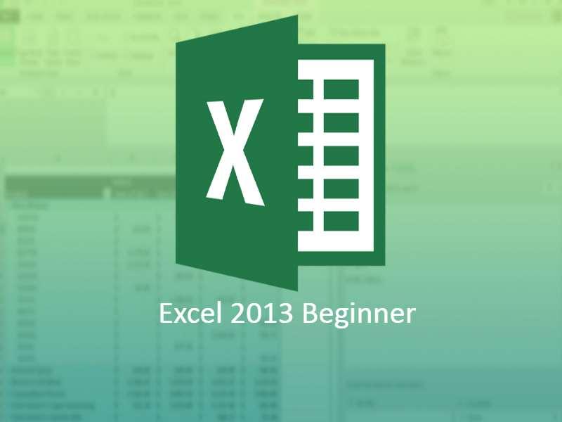 Excel 2013 Beginner