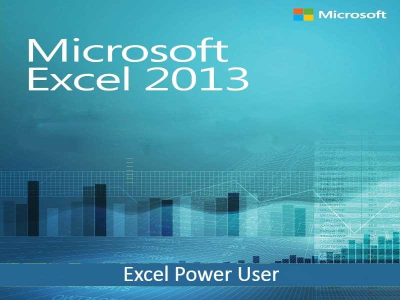 Excel Power User 2013