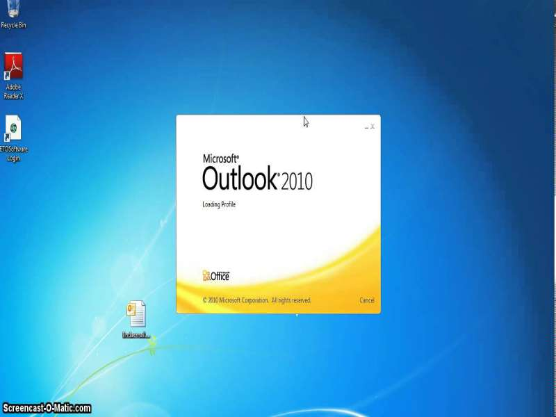 Outlook 2010 Advanced