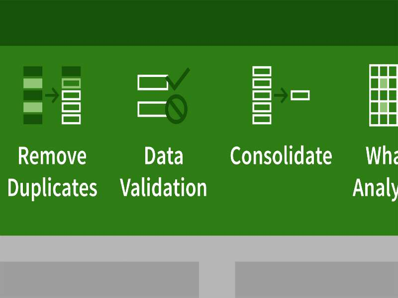 Excel 2016 - Level 7 - Sharing and Validating Data