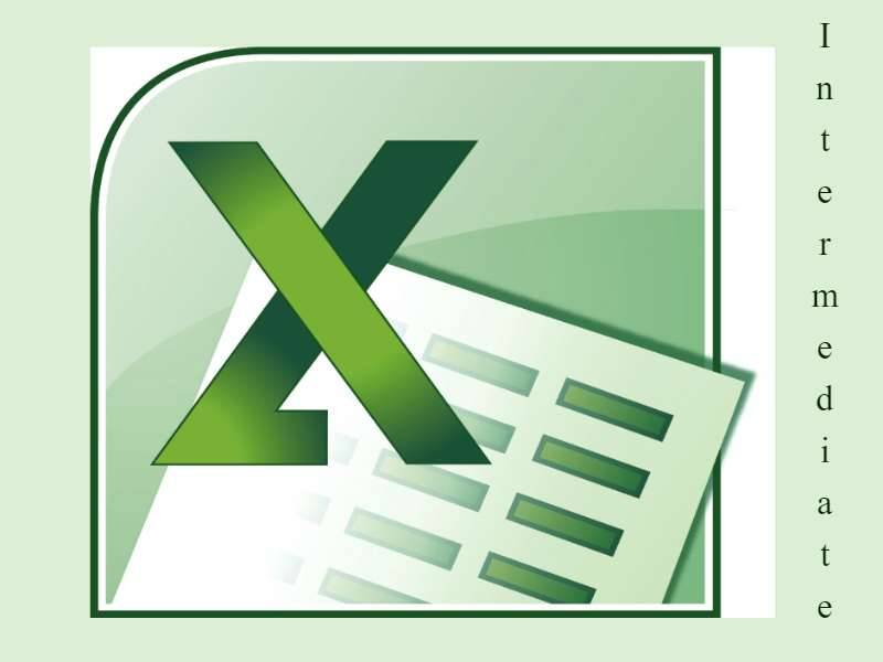Excel 2007: Intermediate