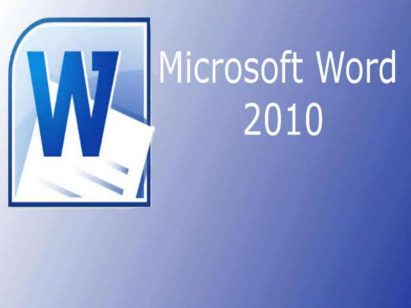 Word 2010 - Level 1 - Basic Word Processing Tasks