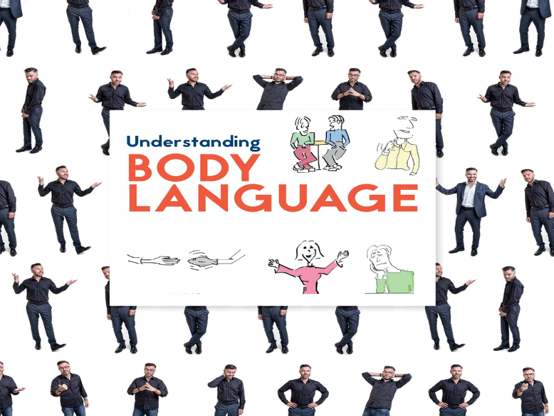 It's what you don't say - Understanding body language